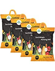 Trust Basket Enriched Premium Organic Earth Magic Potting Soil Mix With Required Fertilizers for Plants- 20 KG