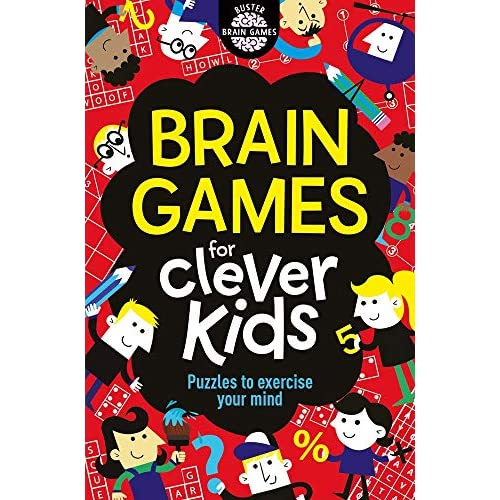 Brain Games for Clever Kids [Lingua Inglese]
