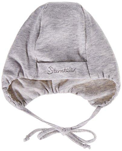 Sterntaler Unisex Mütze mit Bindebändern, Alter: 4-5 Monate, Größe: 41, Silber