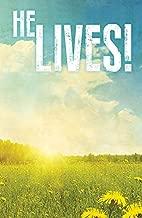 He Lives! Images Easter Bulletin (Pkg of 50)