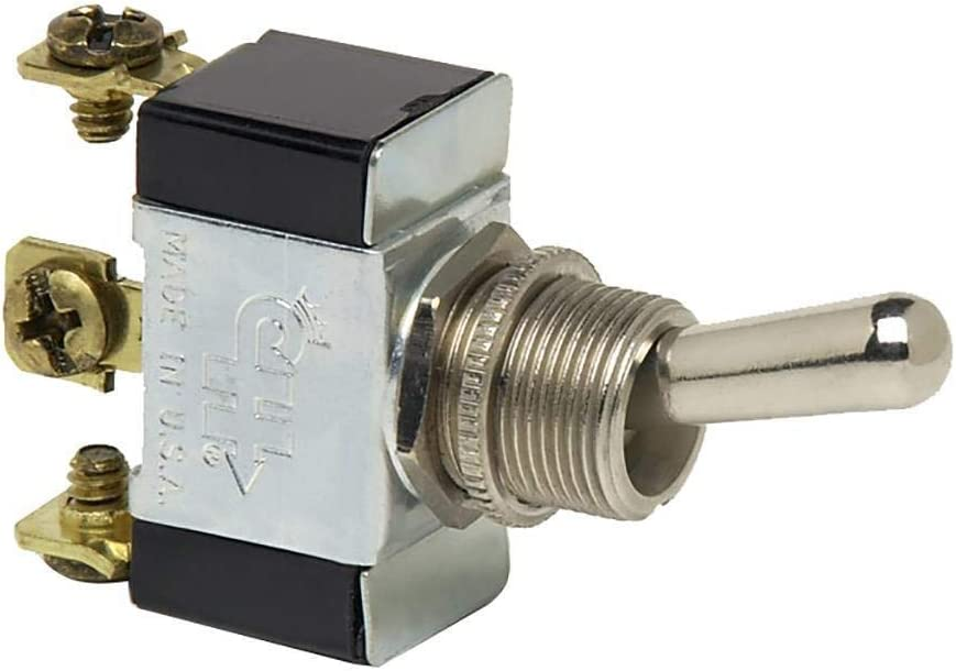 Cole Hersee 55021-07-BP SPDT Toggle Switch (Momentary Hencol 12)