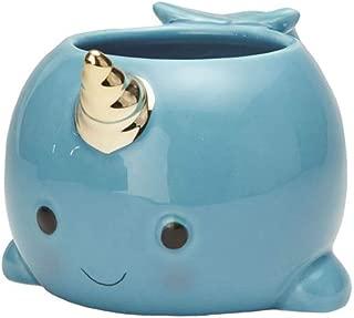 Streamline Magical Narwhal Coffee Mug, Blue