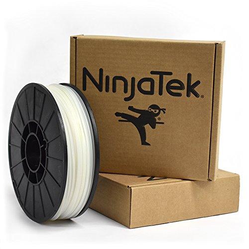 NinjaTek 3DNF08129010 NinjaTek NinjaFlex TPU Filament, 3.00 mm, TPE, 1 kg, Wasser (transparent) (1 Stück)