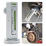 KATUR Herramienta del calibrador Universal para Coches/Camiones magnética Camber Castor Alignment Tool Apoyo de Rueda para el Coche (Paquete de 1)