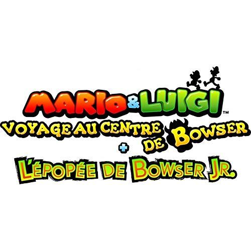 Mario & Luigi: Voyage Au Centre De Bowser + L'épopée De Bowser Jr. Standard [Importación francesa]