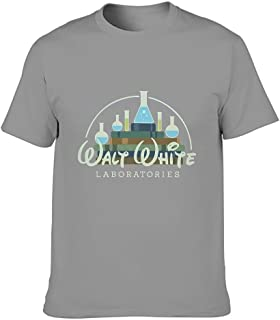 nanjingjin Walt White Labs Bad Breaking – Camiseta Fashion Multiple Patterns para hombre y mujer