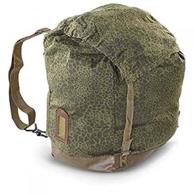 Used Military Surplus Polish Army Leopard Camo Backpack Rucksack