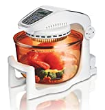German Pool CKY-298 Far-Infrared 10 Litre 1000 W Roast, Bake, Broil, Steam and Fry Food Lid AutoMatically...