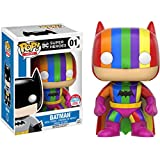Batman (2016 NYCC Exc): Funko Pop! Heroes Vinyl Figure & 1 Compatible Graphic Protector Bundle (001 - 10806 - B)