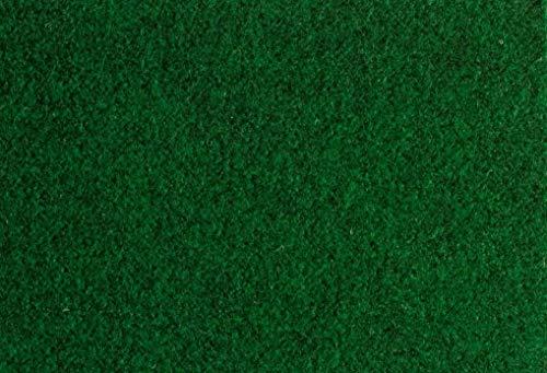 misento Rasenteppich Easy Kunstrasen strapazierfähig, robust, pflegeleicht mit Drainage Noppen braun, grün, 133 x 200 cm