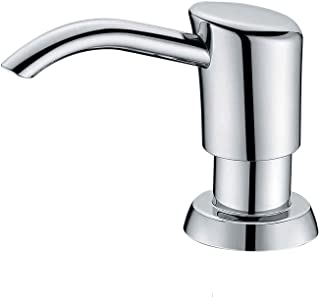 Gagal Built in Sink Soap Dispenser or Lotion Dispenser for Kitchen Sink, Chrome ABS Pump..