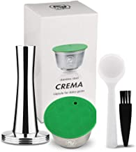 i Cafilas Stainless Steel Refillable Dolce Gusto Coffee Capsules Crema Reusable Coffee Pods Metal Permanent Coffee Holder ...