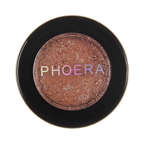 Xshuai PHOERA Lidschatten Glitter Schimmernde Farben Lidschatten Metallic Augenkosmetik Make-up sexy...