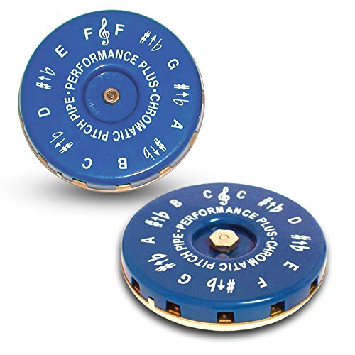 Performance Plus Chromatic Key of C and F Vocal Pitch Pipe (CP-DUO)