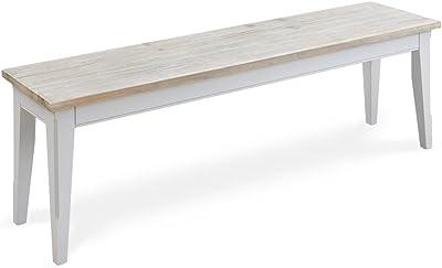Tavolo Sumatra - 01793, Colore Bianco, 138 x 80 x 8 cm ...