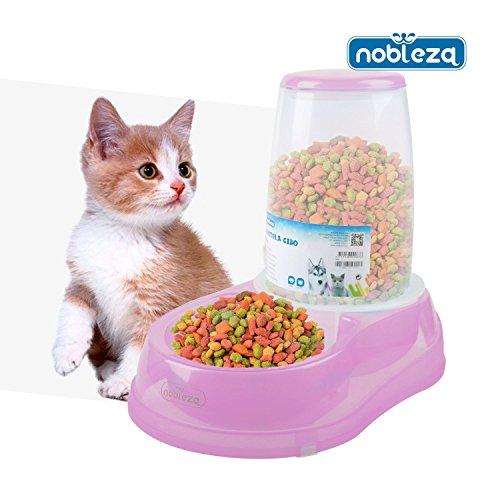 organizador para cocina y de alacena de 3.5 L alimento de mascota Contenedor de alimento seco con cuchara grande y almacenamiento Dispensador de alimento de perro y gato para cereales