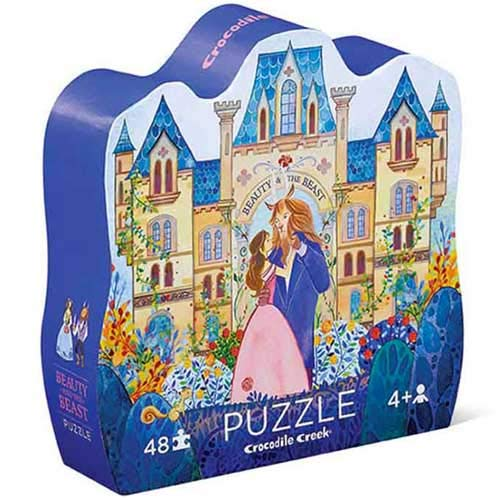Crocodile Creek : Beauty & The Beast 48 Piece Tell me a Story Puzzle