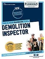 Demolition Inspector (Career Examination)