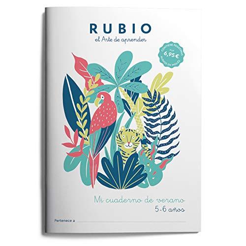 Mi cuaderno de verano RUBIO. 5-6 años: 3