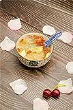 Syndecho 8 Stück Blau und Weiß Keramik Chinesische Suppenlöffel Porzellan Diner Geschirr - 4