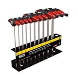 Klein Tools JTH610E T Handle Hex Key Set with Stand,...