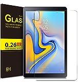 ELTD Verre Trempé Protection écran pour Samsung Galaxy Tab A 10.5 SM-T590/T595, Dureté 9H, 2.5D Bords Arrondis Film pour Samsung Galaxy Tab A SM-T590/SM-T595 10.5 2018,(1-Pack)