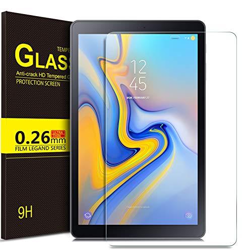 ELTD Templado Protector para Samsung Galaxy Tab A 10.5 SM-T590/T595, 9H 2.5D Protector de Pantalla Vidrio Templado para Samsung Galaxy Tab A SM-T590/SM-T595 10.5 2018,1 Pack