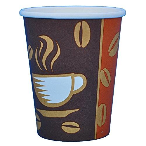 Kaffee Becher 1000 Stück Coffee to go Becher 200ml 0,2l