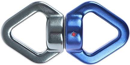 GPWDSN 30 KN Rock Klimmen Swing Swivel Luchtvaart Aluminium Driehoekige Touw Swivel Connector 360 Graden Rotatie Metalen S...