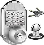 Keyless Entry Door Lock Deadbolt Stainless Steel 304 Keypad Mechanical Digital Combination Double
