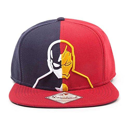 Meroncourt Captain America vs Iron Man Snapback Casquette De Baseball, Multicolore (Multicoloured), Unique (Taille Fabricant: One Size) Mixte