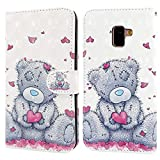 Ailisi Case for Samsung Galaxy J6 2018, 3D visual Cute Love