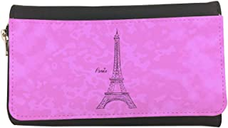Landmarks - Eiffel Tower Printed Leather Case Wallet