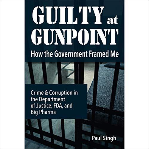 Guilty at Gunpoint audiobook cover art