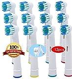 Beauty Nymphe Generic für ersetzen Oral B Precision Clean Kompatibel Ersatz-Zahnbürstenköpfe -