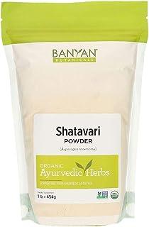 Banyan Botanicals Shatavari Powder, USDA Organic, 1 Pound, Asparagus Racemosus, Rejuvenative for Vata and Pitta That Promo...