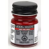 Testor'S 2772 1/2 Oz Fire Red Gloss Model Master Auto Enamel Paint