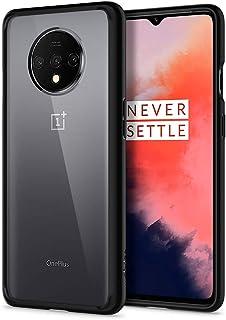 Spigen Ultra Hybrid Back Cover Case Designed for OnePlus 7T - Matte Black