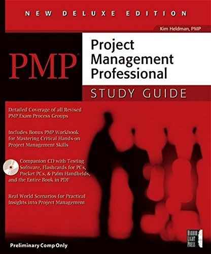 PMP: Project Management Professional Study Guide, Deluxe Edition by Kim Heldman (2005-11-07)