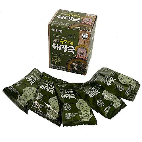 ウゴジ(白菜)ヘジャングック5食(10gX5袋) インスタントスープ 即席スープ 韓国食品 韓国料理 韓国ラーメン