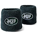 Franklin Sports NFL Embroidered Wristbands, Team Specific, OSFM