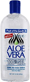 Fruit Of The Earth Aloe Vera 100 % Gel, 12 oz