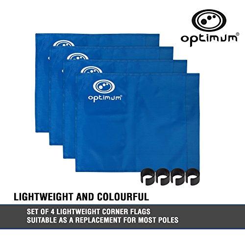 OPTIMUM Óptimo banderines (4 Unidades) - Azul