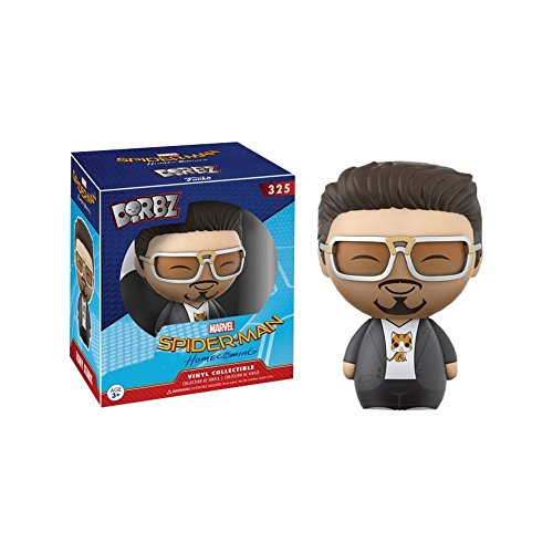 Spider-Man Homecoming Dorbz Vinyl Figure Tony Stark 8...