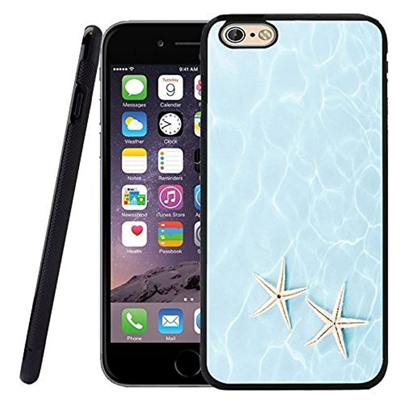 iPhone 6S Case, Customized Black Soft Rubber TPU iPhone/Apple 6/6S Case Seawater is home belong to starfish