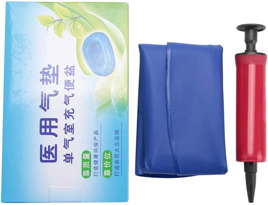Inflatable Bedpan, Portable Inflatable Potty Bedpan for Medical