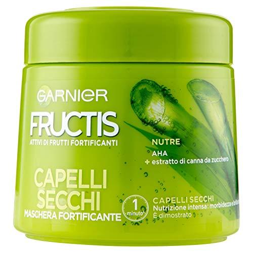 Garnier Fructis Capelli Secchi Maschera Rigenerante per Capelli Secchi o Sciupati, 300 ml