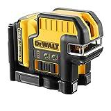 DeWalt dce0825d1g 10,8V foco 5Cruz línea láser verde (1x 2.0Ah recargable), amarillo/negro