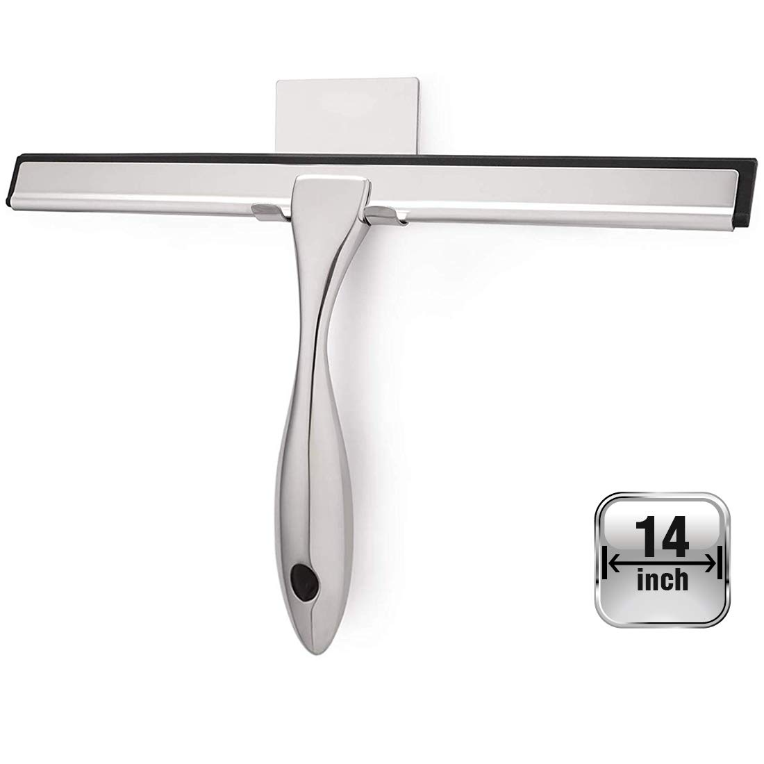 OPERNEE All Purpose Squeegee Stainless Bathroom