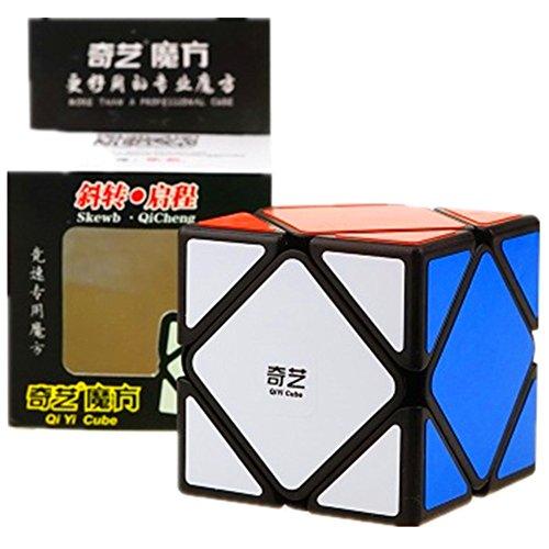 cuberspeed QiYi QiCheng Skewb Black Magic Cube Mo Fang Ge QiCheng Skewb Black Speed Cube